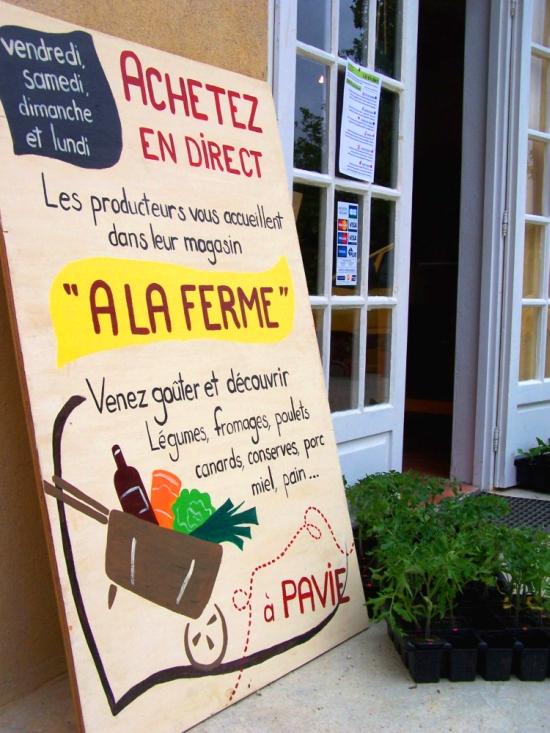 Boutique de producteurs 'À la ferme'