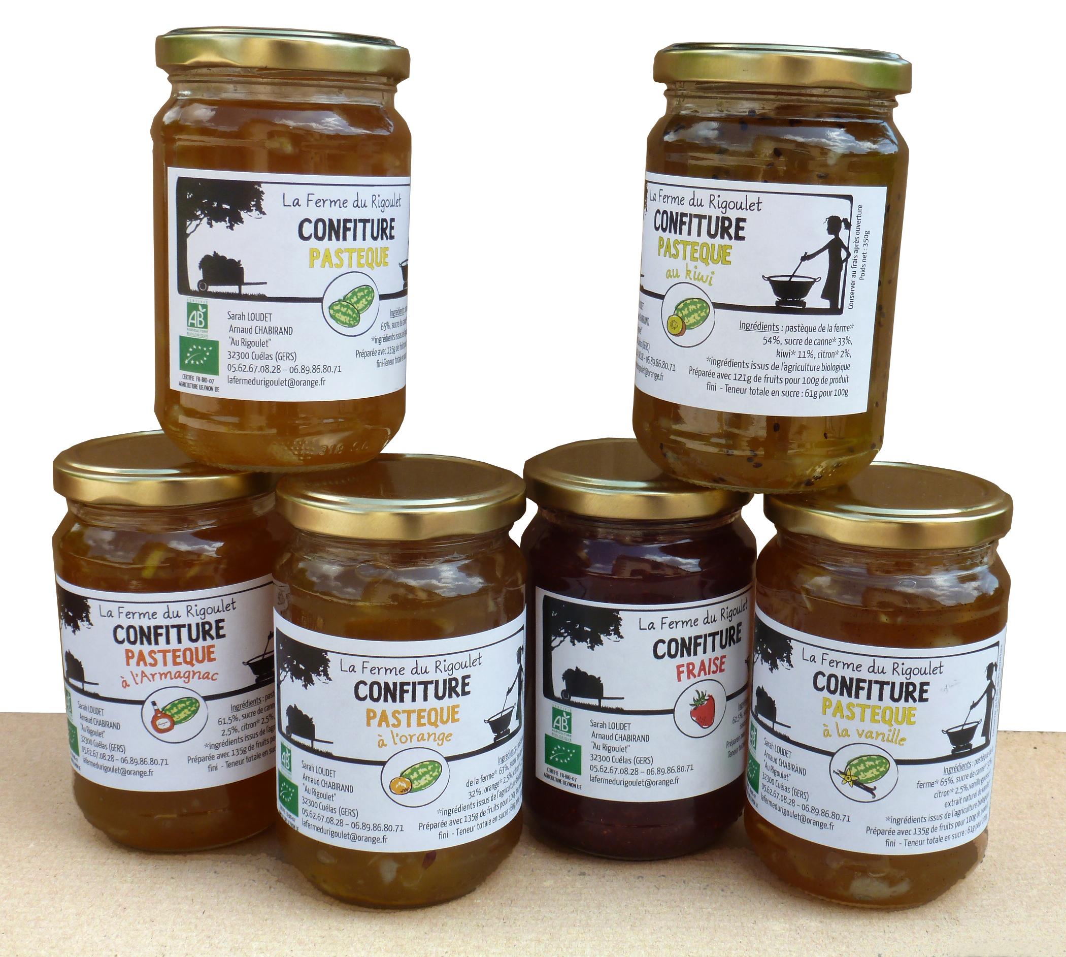 Confiture paysanne // Déclinaison d'une gamme d'étiquettes