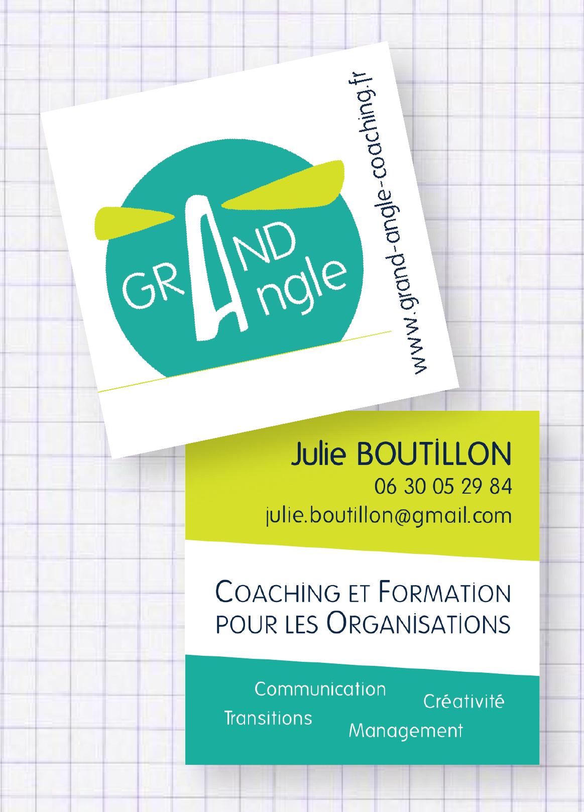Grand Angle - Coaching // Carte de visite