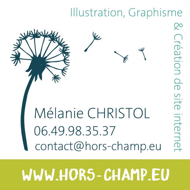 Carte de visite // Mélanie CHRISTOL