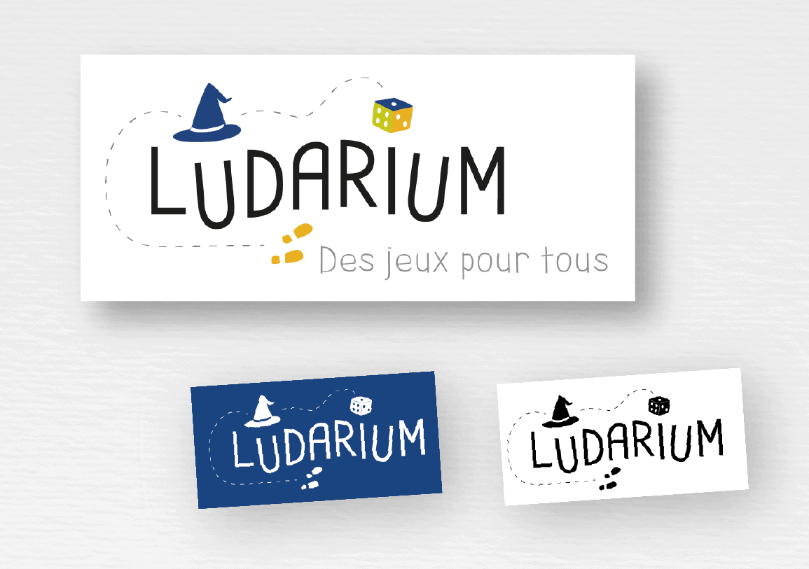 LOGO // LUDARIUM - Des jeux pour tous